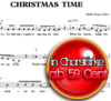 Christmas Time - Sheetmusic to download