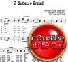 O Jubel O Freud - Chornoten zum Download