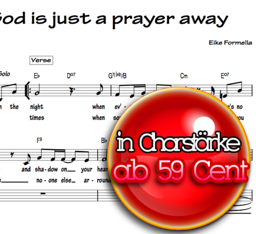 God is just a prayer away - Eike Formella