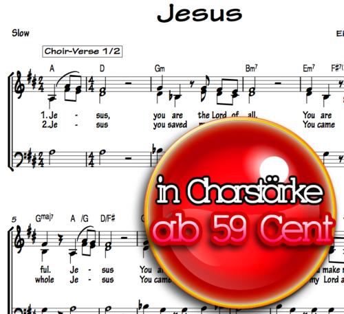 Jesus - Eike Formella Chornoten zum Download