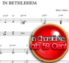 In Bethlehem - Hanjo Gäbler Chornoten zum Download