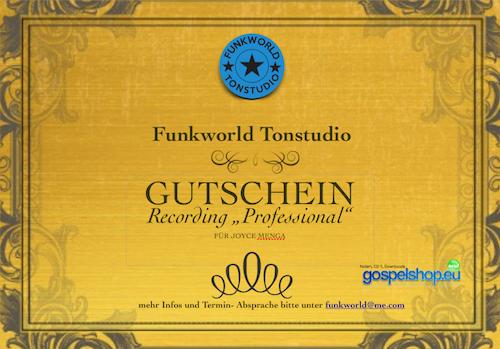 Standard Recording Gutschein