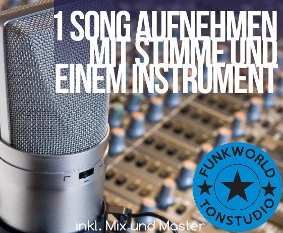 Professional Recording Gutschein