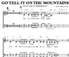 Go tell it on the mountans - Sheet Music for Download