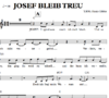 Josef bleib treu - Chornoten zum Download