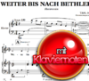 Weiter bis nach Bethlehem - Sheet Music for piano to download