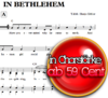 In Bethlehem - Chornoten zum Download