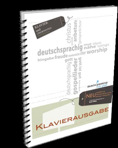 Deutsche Gospelsongs - Klavierausgabe