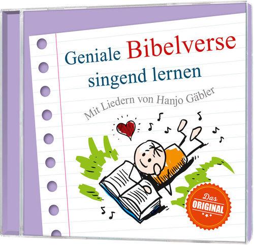 Geniale Bibelverse singend lernen - CD