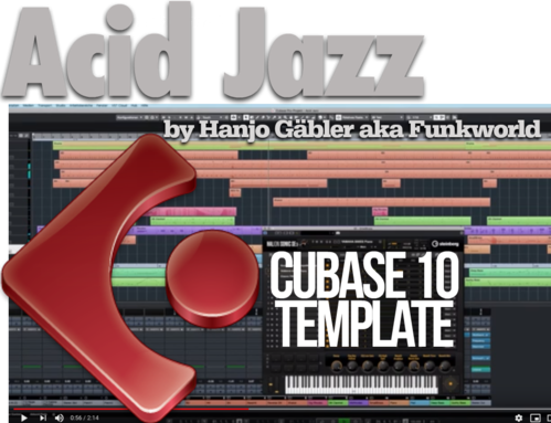 Acid Jazz Template for Cubase 10 by Hanjo Gäbler