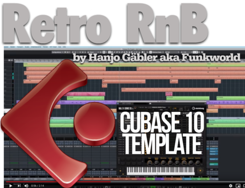 Retro RnB Template for Cubase 10 by Hanjo Gäbler