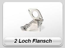 2 Loch Flansche