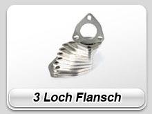 3 Loch Flansche