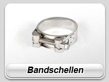 Edelstahl Bandschelle