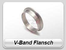 V - Band Flansch