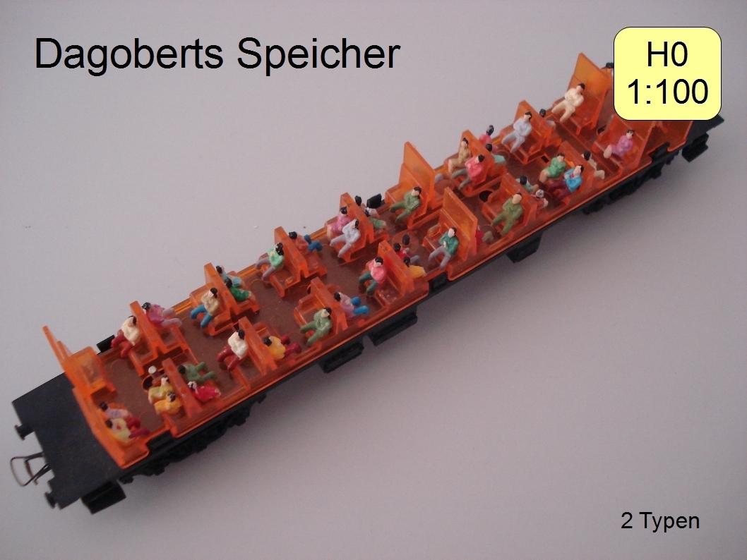 P87S Neu 60 Stk verschieden sitzende Figuren Spur H0