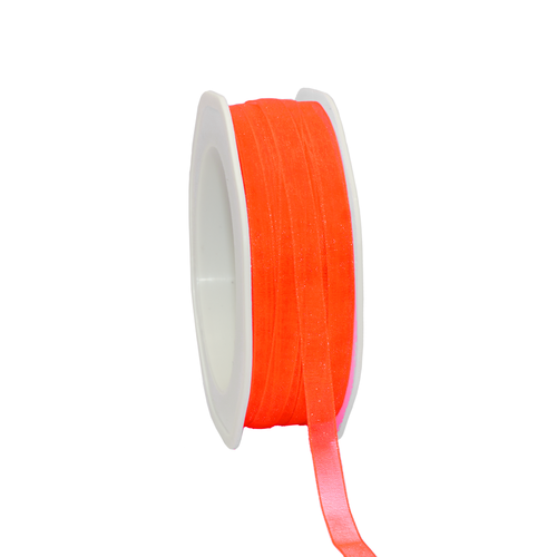 Organza Band 'Neon Orange'