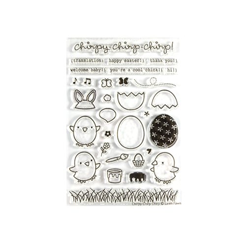 "Clear Stempel ""chirpy chirp-chirp"""