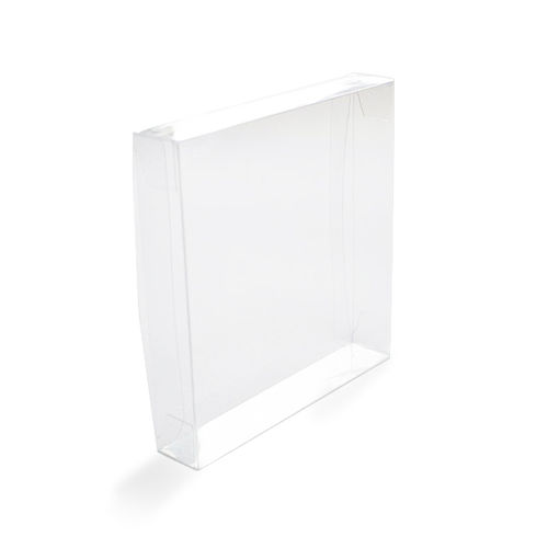 Clear Square Card Box