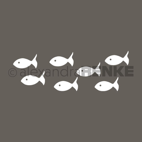 Motivstempel 'Fische links'