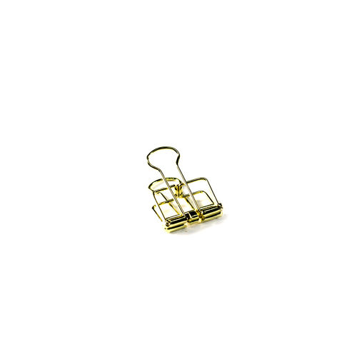 Binder Clips gold small