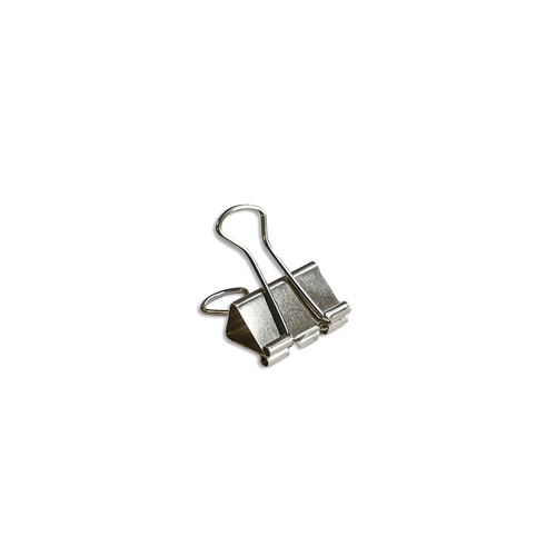 Solid Binder Clips small silver