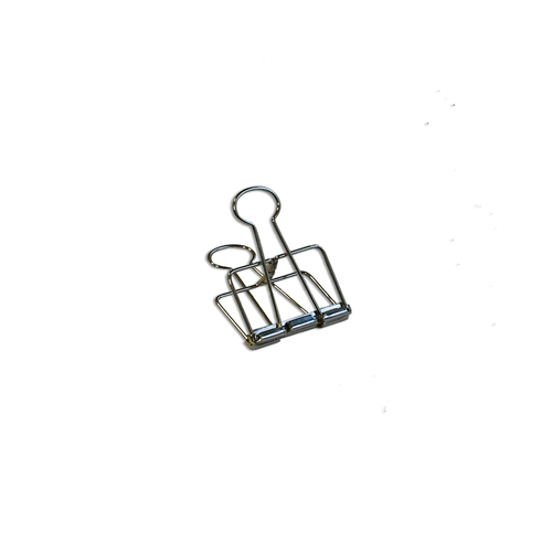 Binder Clips silver small