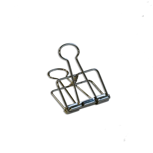 Binder Clips large silver
