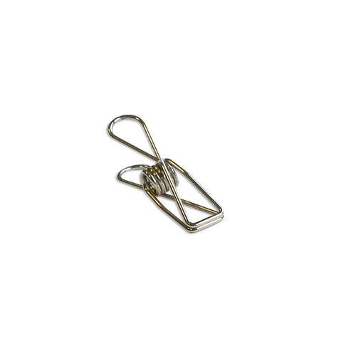 Fish Clips small silver