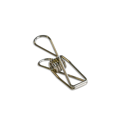 Fish Clips silver medium