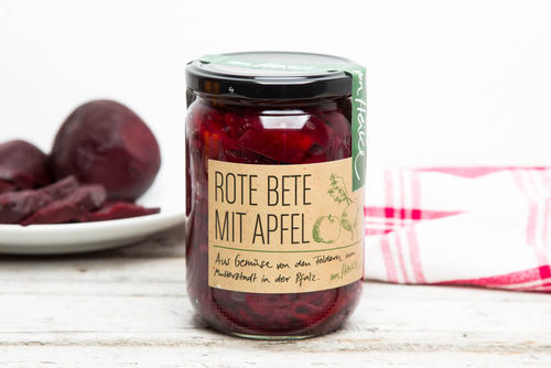 Rote Bete mit Apfel