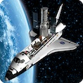 3D Weltraum Magnet Space Shuttle