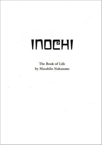 Inochi. The Book of Life