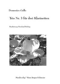 Domenico Gallo: Trio Nr. 3 für drei Klarinetten