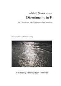 Adalbert Nudera (1746-1811): Divertimento in F (DOWNLOAD)