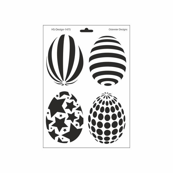 schablone din a4  ostereier designs  ina schäfer onlineshop