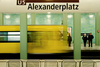 "Poster ""Leaving Alexanderplatz"""