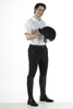 Men's Riding Breeches Peter black
