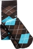 "Caro socks ""Nylons"", black/brown/turquoise"