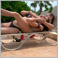 Bikini Catfight by the pool – Sabrina vs Jillian – FULL HD