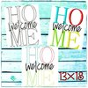 WelcomeHome Set 5x7""