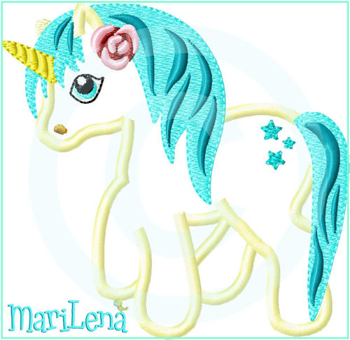 ♥ Magical Unicorn 1 ♥ Appli 10x10