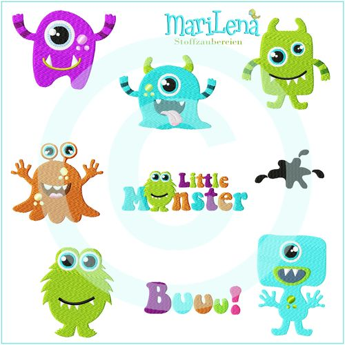 Set Little Monster