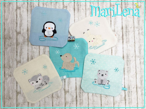 CoolPackCovers Arctic Animals  ITH design