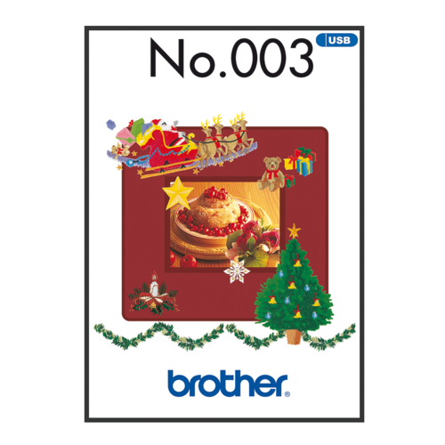 Brother Embroidery Pattern Winter  BLECUSB003