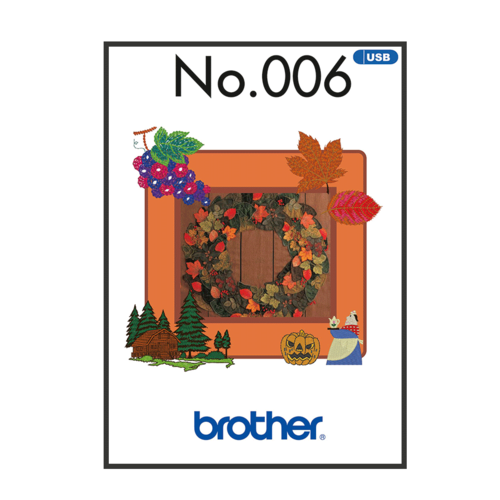 Brother Embroidery Pattern Autumn BLECUSB006