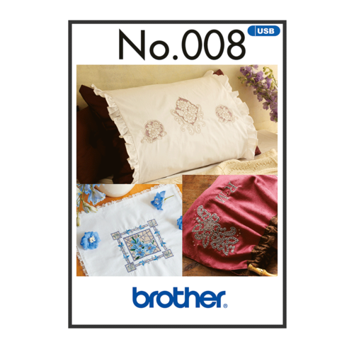 Brother Embroidery Cut Work Style BLECUSB008