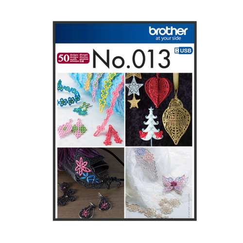 Brother Embroidery Pattern 3-D Juwellery  BLECUSB013