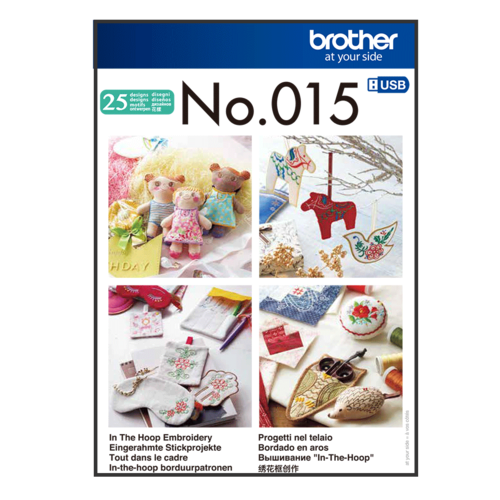 Brother Embroidery in Frame, in the hoop  BLECUSB015