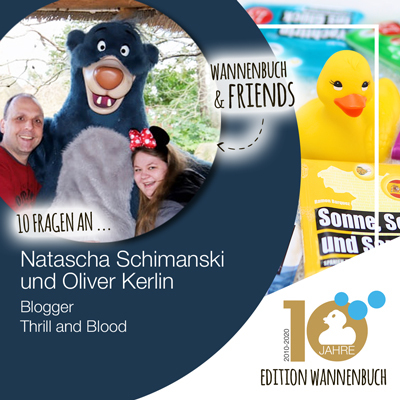 Wannenbuch & Friends: Natascha Schimanski und Oliver Kerlin vom Blog Thrill and Blood